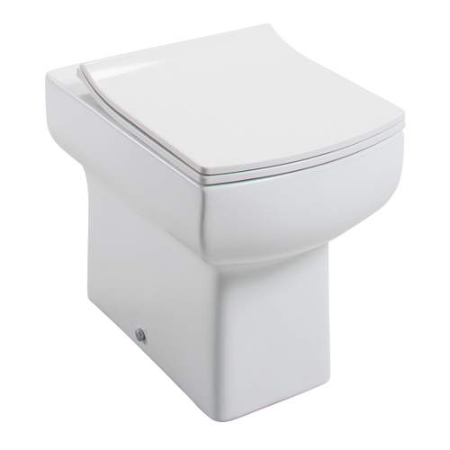 Daisy Lou Back to Wall Pan with Slimline Seat