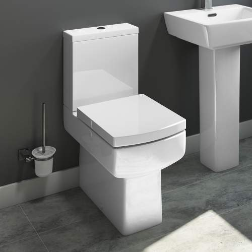 Daisy Lou Comfort Height Close Coupled Pan and Cistern