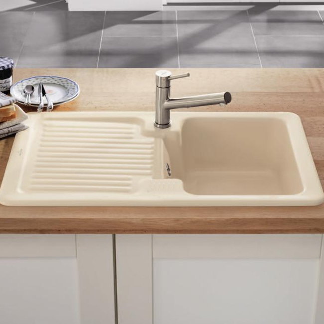 Villeroy And Boch Condor  Ceramic Kitchen Sink