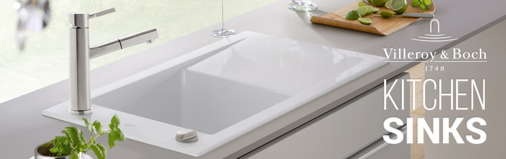Villeroy and Boch kitchen sinks from sinks-taps.com