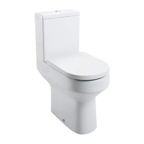 Aquabro Montego Comfort Height Close Coupled Toilet and Cistern