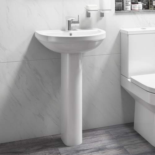 Aquabro Montego Pedestal and Basin