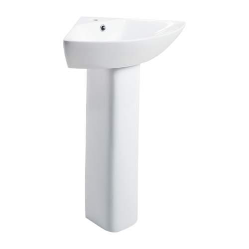 Spek Corner Basin and Pedestal