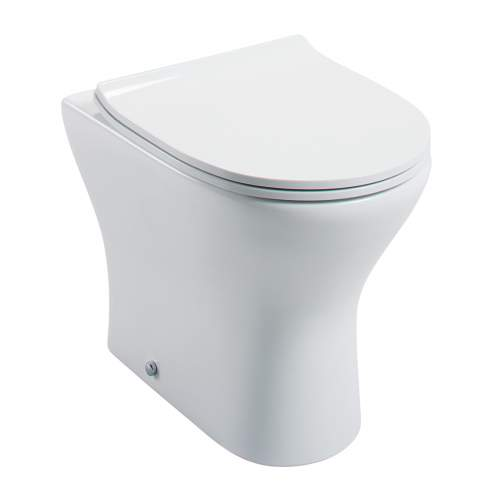 Spek Back to Wall Pan & Cistern with Seat
