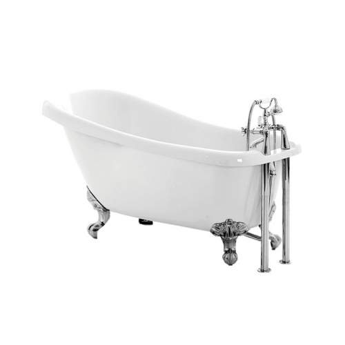 Aquabro Bayswater DIBF2014 Slipper Freestanding Bath with Feet