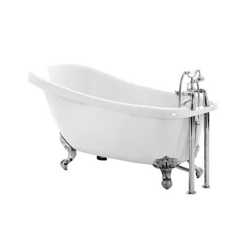 Aquabro Bayswater DIBF2016 Slipper Freestanding Bath with Feet