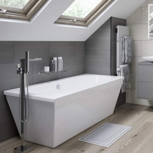Aquabro Edinburgh DIBF0038 Freestanding Modern Double Ended Bath