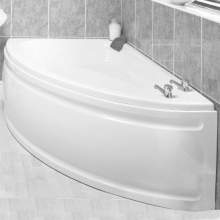Aquabro White Orlando 2100mm Corner Bath Panel