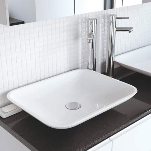 Aquabro Cedrus DIPB0028 No Tap Hole Shallow Wash Bowl