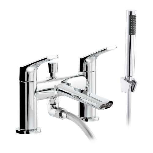 Abode SQUIRE AB2652 Deck Mounted Shower Mixer Tap