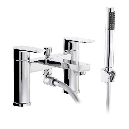 Abode FLUX AB2673 Deck Mounted Shower Mixer Tap