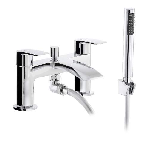 Abode LOOP AB2663 Deck Mounted Shower Mixer Tap