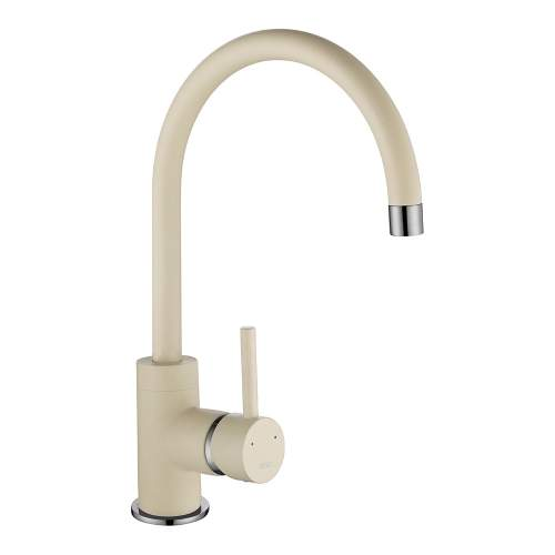 1810 Company Courbe COU/01/CH/PQ-CH Purquartz & Chrome Kitchen Tap