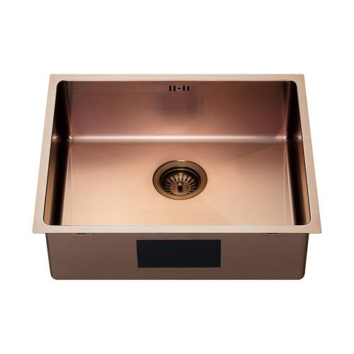 The 1810 Company ZENUNO15 500U PVD Undermount Copper Kitchen Sink