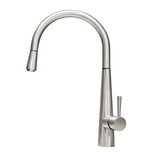 Gessi JUST 20577 Monobloc Kitchen Tap with Pull-Out Rinse
