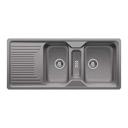 Blanco CLASSIC 8 S BL467973 SILGRANIT 2.5 Bowl Kitchen Sink