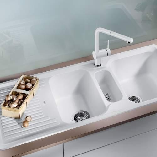 Blanco CLASSIC 8 S SILGRANIT 2.5 Bowl Kitchen Sink