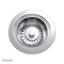 Perrin & Rowe 6400CP Waste Kit for Single Bowl Sinks in Chrome
