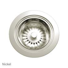 Perrin & Rowe 6400NI Waste Kit for Single Bowl Sinks in Nickel