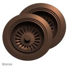 Perrin & Rowe 6475BZ Waste & Overflow Kit for 2 Bowl Sinks in Bronze