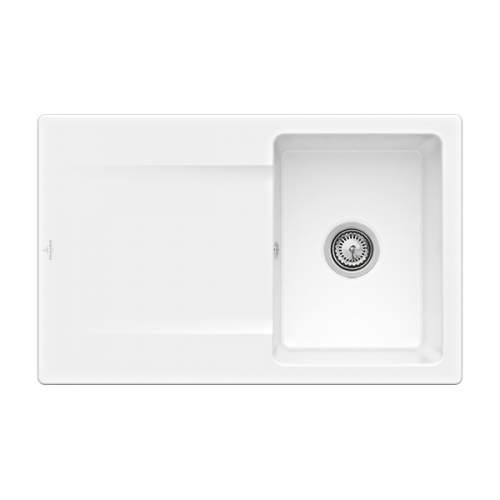 Villeroy & Boch Siluet 3334-00-R1 45 Single Compact Bowl Sink