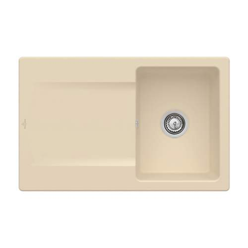 Villeroy & Boch Siluet 3334-00-i5 45 Single Compact Bowl Sink