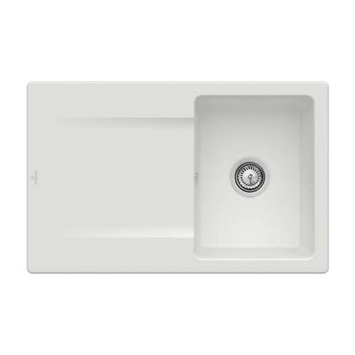 Villeroy & Boch Siluet 45 3334-00-SM Single Compact Bowl Sink