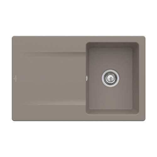 Villeroy & Boch Siluet 45 3334-00-TR Single Compact Bowl Sink