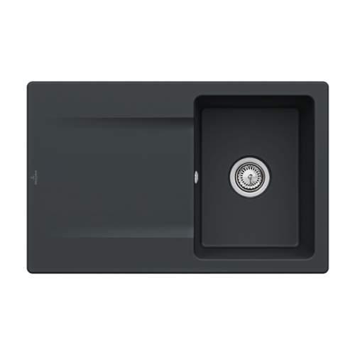 Villeroy & Boch Siluet 45 3334-00-S5 Single Compact Bowl Sink