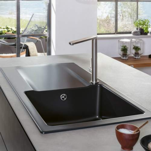 Villeroy & Boch Siluet 45 Single Compact Bowl Sink