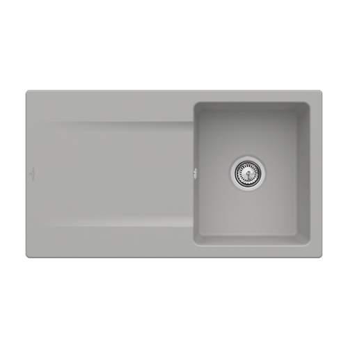 Villeroy & Boch Siluet 50 3335-00-KD Single Bowl Sink
