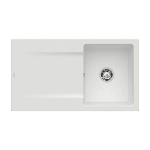 Villeroy & Boch Siluet 50 3335-00-SM Single Bowl Sink