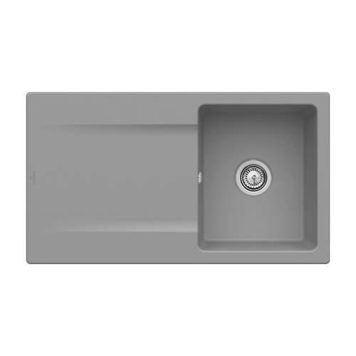 Villeroy & Boch Siluet 50 3335-00-SL Single Bowl Sink
