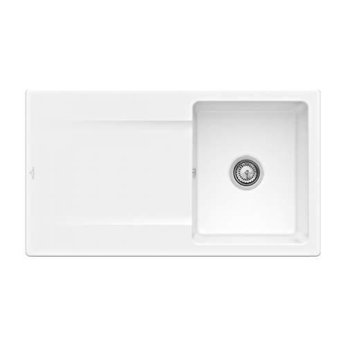 Villeroy & Boch Siluet 50 3335-00-KG Single Bowl Sink