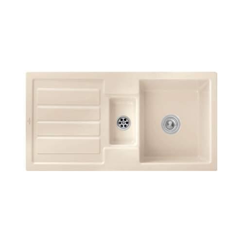 Villeroy & Boch FLAVIA 60 Classic Line 1.5 Bowl Ceramic Sink