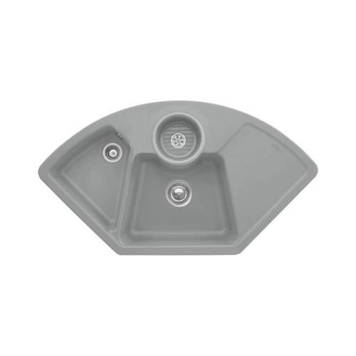 Villeroy & Boch  SOLO CORNER 2.5 Bowl Sink