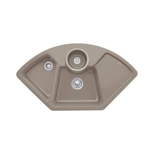 Villeroy & Boch SOLO CORNER Premium Line 2.5 Bowl Ceramic Kitchen Sink