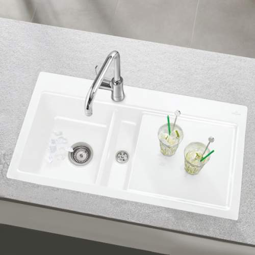 Villeroy & Boch SUBWAY 50 Classic Line 1.5 Bowl Sink
