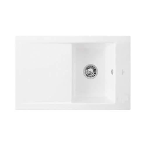 Villeroy & Boch TIMELINE 45 Classic Line Single Bowl Kitchen Sink