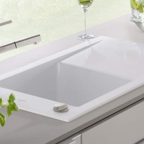Villeroy & Boch TIMELINE 45 Classic Line Single Bowl Kitchen Sink