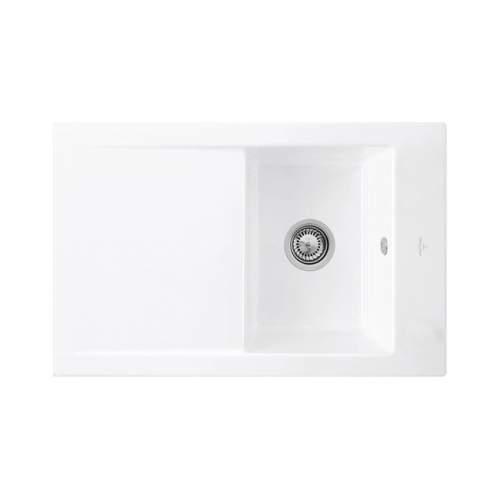 Villeroy & Boch TIMELINE 45 Premium Line Single Bowl Kitchen Sink
