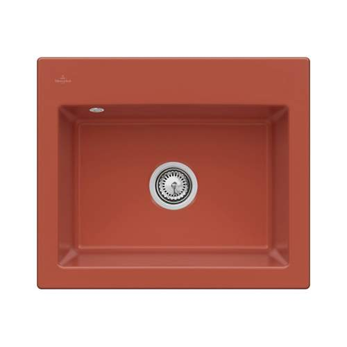 Villeroy & Boch SUBWAY 60 S Premium Line Large Bowl Sink with Tap Ledge