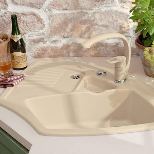 Villeroy & Boch ARENA CORNER Classic Line Ceramic Sink