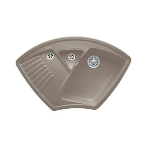 Villeroy & Boch ARENA CORNER Premium Line 1.25 Bowl Ceramic Sink