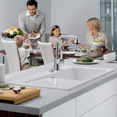Villeroy & Boch SUBWAY 60 XL Premium Line Single Bowl Kitchen Sink