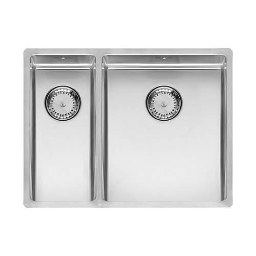 Reginox New York 18x40+34x40 Single Bowl Sink