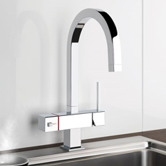 Gessi Quadro Instant Boiling Water Tap