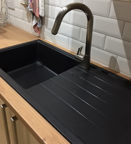 Bluci Piazza 100L granite kitchen sink