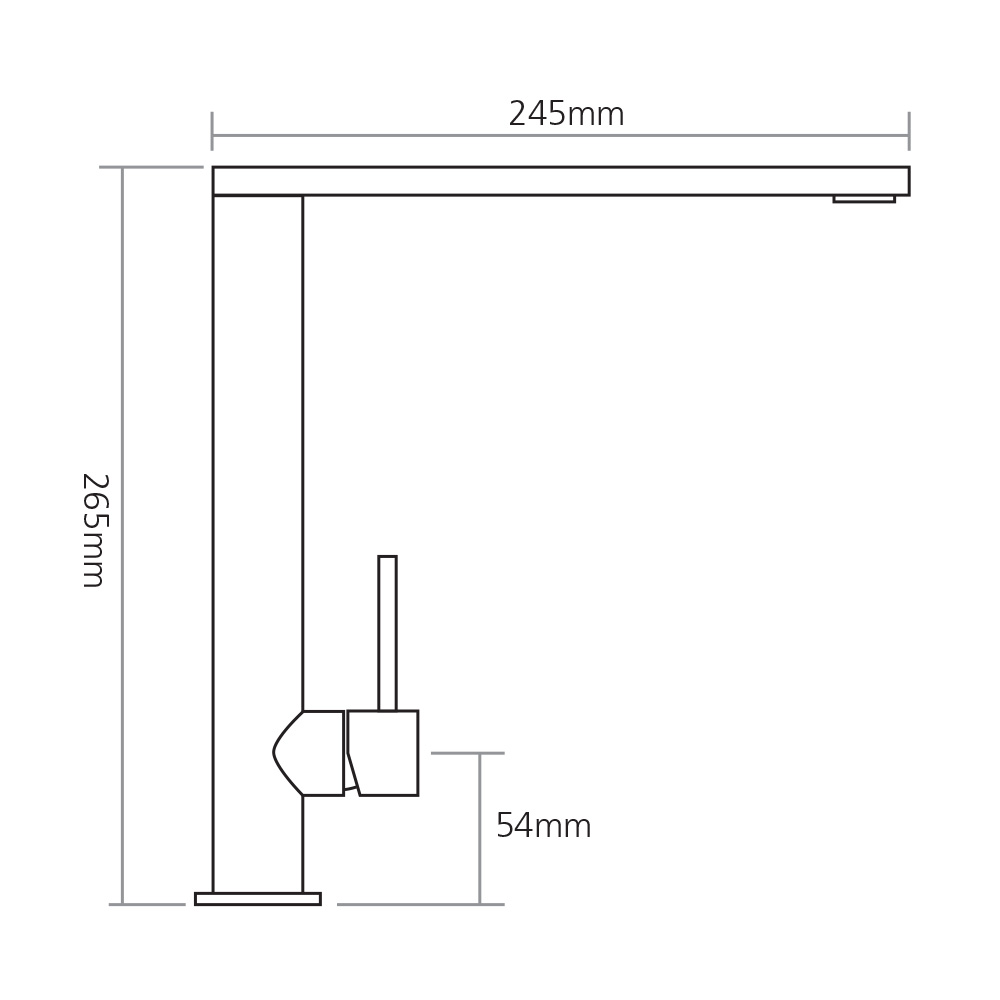 Caple KARNS Single Lever Tap