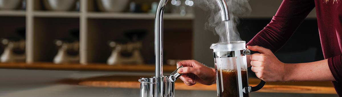 Abode 4 in 1 Pronteau Instant Hot Taps